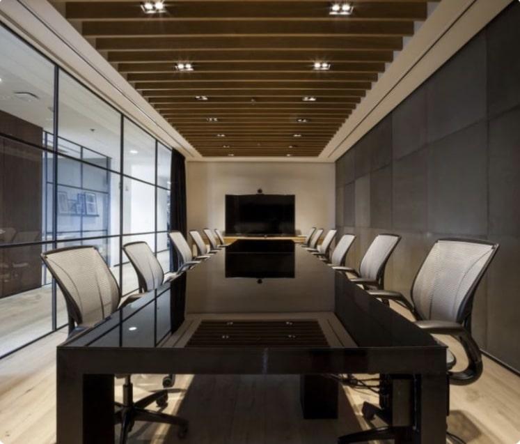 استودیو معماری زاها - بازسازی ساختمان اداری شیک